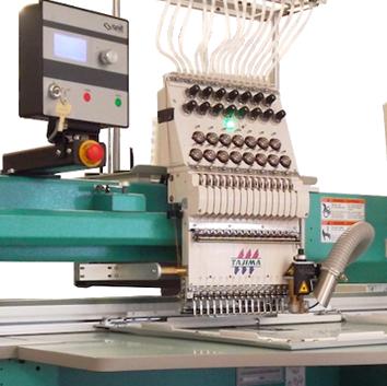 Vyšívací stroje Tajima,vyšívací nite,software,Tama Bohemia, Vyšívací stroje Tajima, vyšívací nite, software